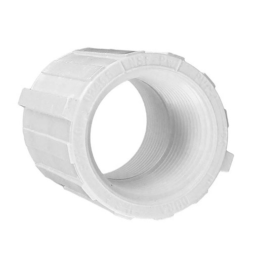 Spears 430-010 - 1 inch fpt x 1 inch fpt PVC Threaded Coupling