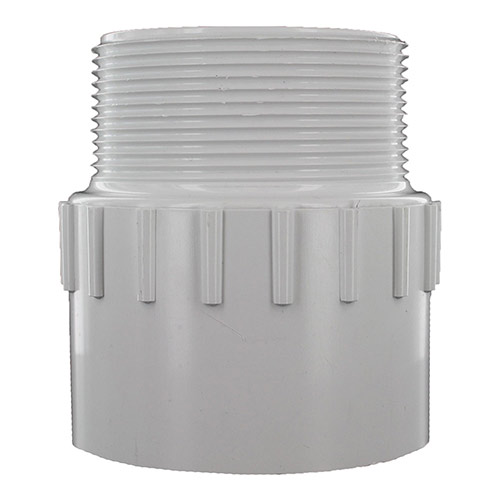 Dura 436-030 3 in. MPT x 3 in. Slip PVC Pipe Adapter