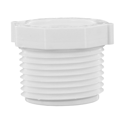 439-101 - PVC Threaded Reducing Bushing 3/4 (mpt) x 1/2 (fpt)