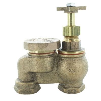 Champion 466P-075-C 3/4 in. Anti-Siphon Valve w/o Union Yellow Brass