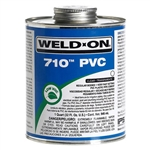 Weld-On 16 oz 710 Very Fast Set Clear Glue | 710-020