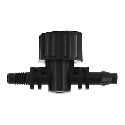Antelco A42135 Vari-Flow 0.18 in. Barb x 10-32 Thread Drip Tubing Valve