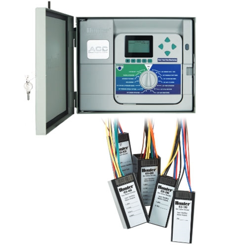 HUNTER ACC 99D 2 Wire Decoder Controller With 99 Station Capacity Stainless Wall Mount