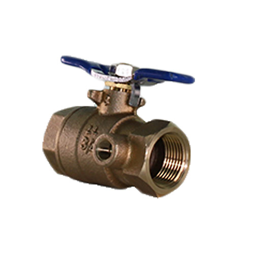 "Lead Free Ball Valve 3/4"" FPT 
