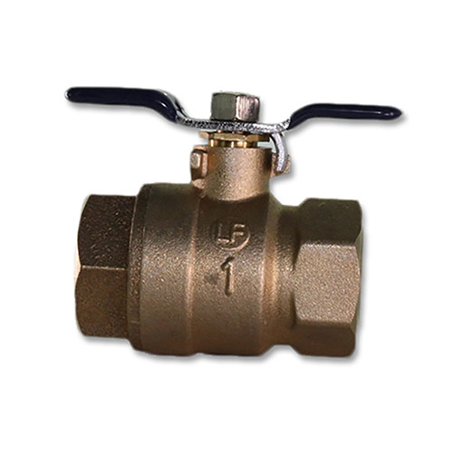 BBVB-100 1 in. Brass Backflow Ball Valve (Lead Free)