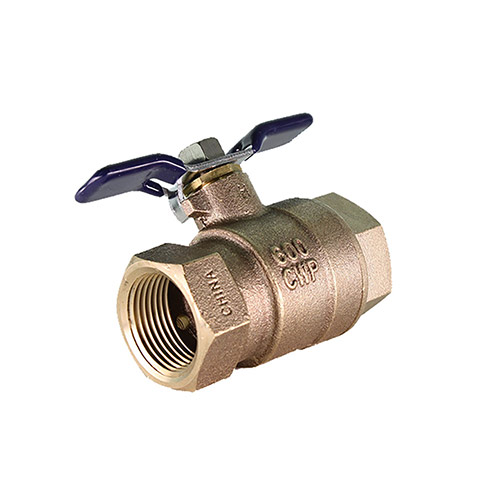 Aqualine BBVB-100T 1 inch Backflow Ball Valve with Test Cap