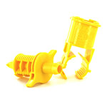 BS4000 - BS 4000 Blazing Saddle Tee - ¾ x Swing Pipe Barb