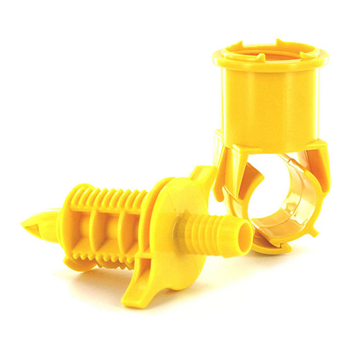 BS9000 - BS 9000 Blazing Saddle Tee - 1'' x Swing Pipe Barb
