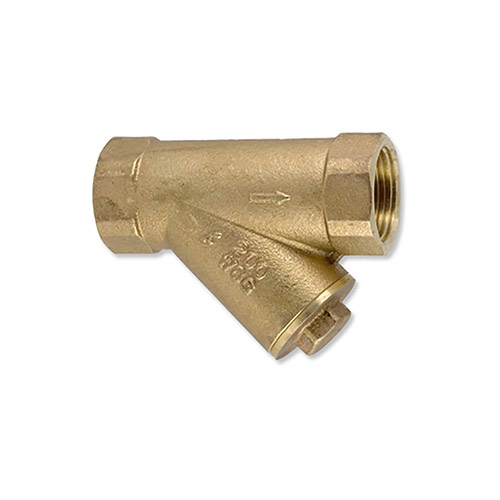 Aqualine 1-1/2 in. Brass Y-Strainer w/ 20 Mesh Screen