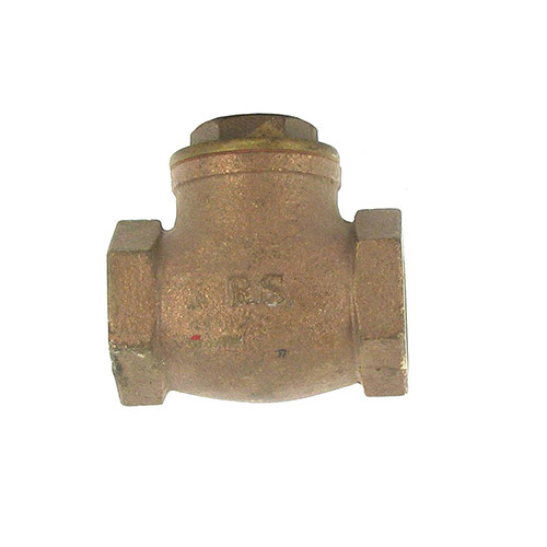 Aqualine CV-100 Swing Brass Check Valve (1 in.)