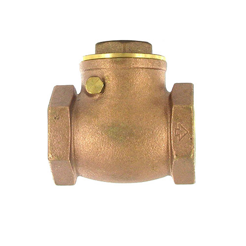 Aqualine CV-125 Swing Brass Check Valve (1-1/4 in.)