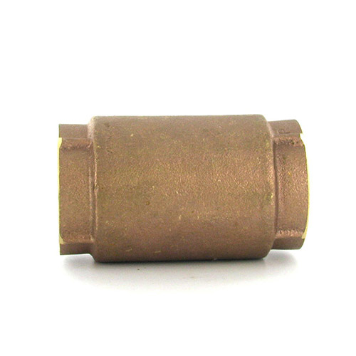 Aqualine CVI-125 In-Line Brass Check Valve (1-1/4 in.)