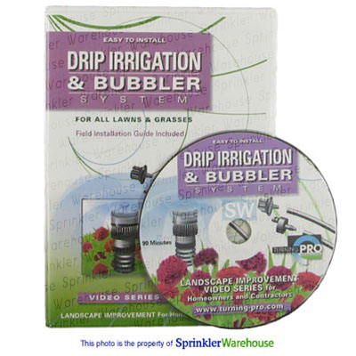 Turning PRO DVD-003 - Drip Irrigation & Bubbler System Installation DVD