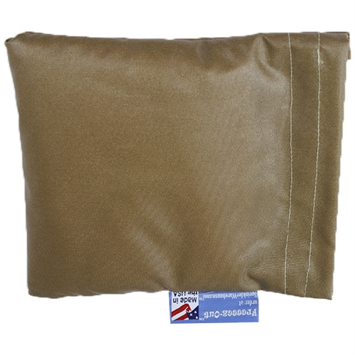 FREEEEZ-OUT Hose-Bib Faucet Cover - 6 x 5 in. - TAN