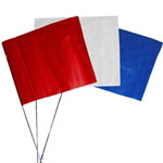 Presco FLAGS-SOLID 100 Solid Sprinkler System Marker Flags