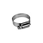 H32SS - Poly Pipe Clamps All Stainless Steel Worm Gear Clamps for 2'' Poly Pipe (10 Count)