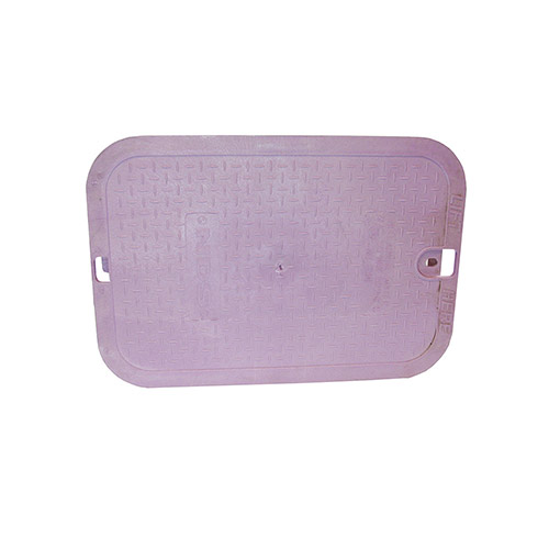 NDS-113P-CR Rectangular Valve Box Cover for Non-Potable Water
