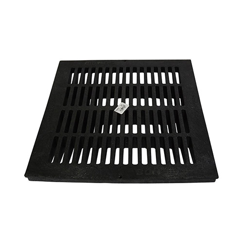 NDS-1811 18 in. Black Square Drainage Grate