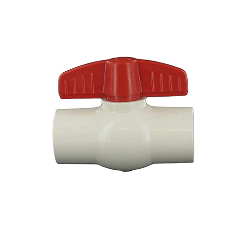 "Aqualine PBV-075 - 3/4"" plastic ball valve with threaded ends"