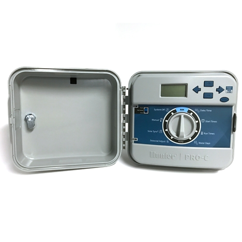 Hunter Pcc600 6 Station Outdoor Controller Timer With Internal Transformer