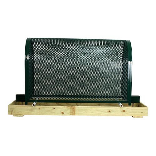Gorilla Cage Tall-GC-3-Green Backflow Preventer Protection Enclosure