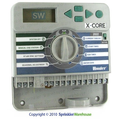 hunter xc 800i x core series 8 station indoor controller timer get