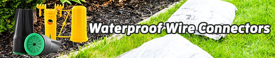 Waterproof Wire Connectors For Lawn Sprinklers & Irrigation Systems