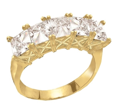 Sweet Love-Cool princess band in Solid Gold
