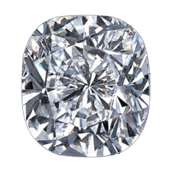 Cushion Cut Diamond Essence Stone is appealing and elegant. The fire and brilliance is parallel to almost all real diamonds!