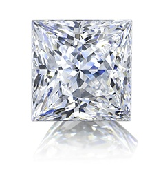 Princess Cut Diamond Essence Stone is one of a kind with tremendous fire and zeal!