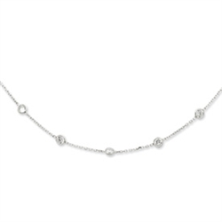 Diamond Essence Necklace with 1.75 cts.t.w. of Round Brilliant Stones - SNQ2647