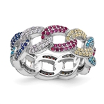 anniversary band  250 round cut brilliant stones