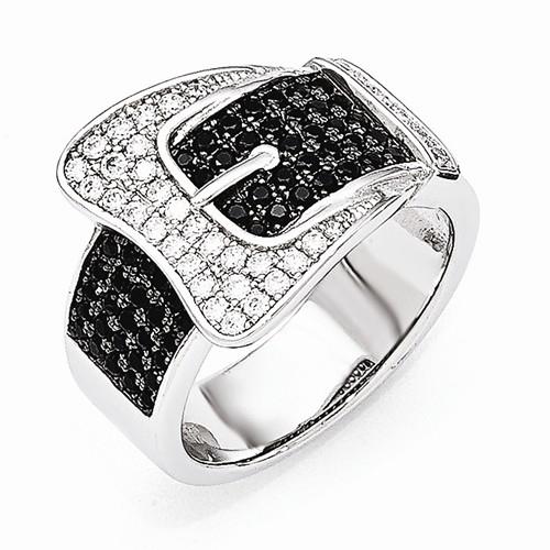 2.16 Ct Genuine Black Diamond Spider Web Designer Ring Solid 925 Sterling Silver Fashion Jewelry Handmade Diamond Pave Jewellery Gifts
