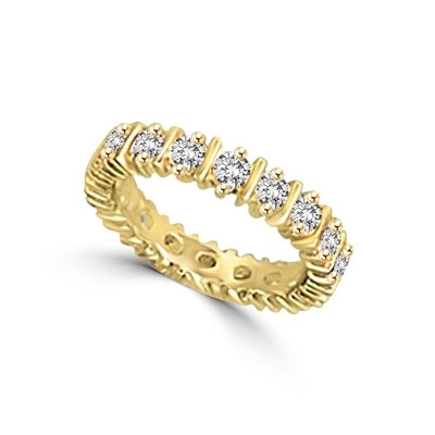Diamond Essence Eternity Band with Round Brilliant Stones, 2.30 cts.t.w. - VRD3426