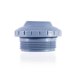 "1 1/2"" THREADED RETURN WITH 1"" OPENING LT BLU"