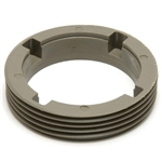 POOL VALET NOZZLE THREADED RETAINER RING, TAUPE