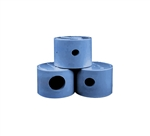 PCC 2000 STEP NOZZLE CAPS (3 PIECES - 1/4, 3/8, 5/8, - 1 EACH) LT BLU