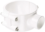 RING CLAMP WHITE & SEAL W/ 6 SCREWS