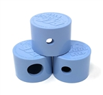 "VANTAGE STEP NOZZLE CAPS ( 3 PIECES - 1/4"", 3/8"", 5/8"" - 1 EACH) LT BLU"