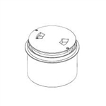 PARALEVEL DECK RING AND LID WHITE