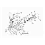 Pentair Motor Package 15HP 3PH 380 415V