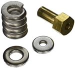 Spring barrel nut assembly