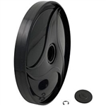 Polaris Wheel Doubleside Black 380 360