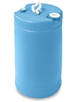 15 Gallon carboy Blue Chlorine Tank