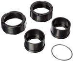 Coupling Nut Kit w Compression Ring  Gasket Set of two