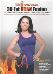 Core Transformer Fat Burn Fusion DVD Only