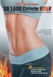 Core Transformer 3D 1,000 Calorie Burn DVD