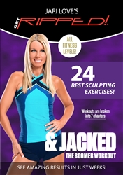 Jari Love Get Ripped and Jacked DVD