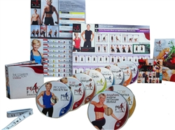 Peak Fit Challenge 10 DVD Set (NO BANDS) - Michelle Dozois