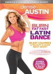 Denise Austin Burn Fat Fast Latin Dance DVD